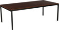 Furniture : American, Florence Knoll (American, born 1917). T Angle Coffee Table,1960s, Knoll. Mahogany, painted steel. 16 x 45 x 23 inches (...
