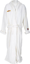 Basketball Collectibles:Others, 2004 Shaquille O'Neal All-Star Game Jeff Hamilton Robe. ...