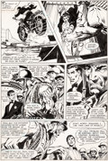 Original Comic Art:Panel Pages, Neal Adams Brave and the Bold #84 Story Page 5 Sgt. RockOriginal Art (DC, 1969)....