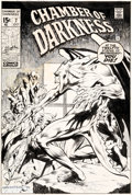 Original Comic Art:Covers, Bernie Wrightson Chamber of Darkness #7 Cover Original Art (Marvel, 1970)....