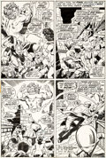 Original Comic Art:Panel Pages, John Buscema and Vince Colletta Thor #203 Story Page 14Original Art (Marvel, 1972)....
