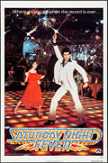 "Movie Posters:Drama, Saturday Night Fever (Paramount, 1977). One Sheet (27"" X 41"").Drama.. ..."
