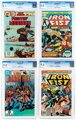 Comic Books - Assorted CGC-Graded Bronze and Modern Age Comics Group (Marvel, 1975-83).... (Total: 6 )