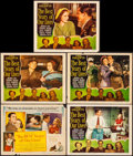 "Movie Posters:Drama, The Best Years of Our Lives (RKO, 1947). Title Lobby Card and LobbyCards (4) (11"" X 14""). Drama.. ... (Total: 5 Items)"
