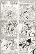 Original Comic Art:Panel Pages, Jack Kirby and Chic Stone X-Men