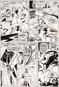 Original Comic Art:Panel Pages, John Buscema and Johnny Craig Sub-Mariner #20 Story Page 18Original Art (Marvel, 1969)....
