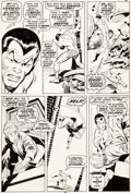 Original Comic Art:Panel Pages, John Buscema and Johnny Craig Sub-Mariner #20 Story Page 2Original Art (Marvel, 1969)....