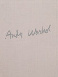 Works on Paper, Andy Warhol (1928-1987). Andy Warhol Kiku Exhibition Catalogue, 1984. First edition with original silkscreen in colors i...