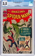 Silver Age (1956-1969):Superhero, The Amazing Spider-Man #2 (Marvel, 1963) CGC VG- 3.5 Whitepages....