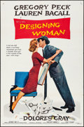 "Movie Posters:Comedy, Designing Woman (MGM, 1957). One Sheet (27"" X 41"") Style A.Comedy.. ..."