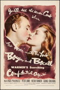 """Movie Posters:Drama, Confidential Agent (Warner Brothers, 1945). One Sheet (27"""" X 41"""").Drama.. ..."""