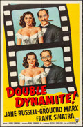 "Movie Posters:Comedy, Double Dynamite (RKO, 1951). One Sheet (27"" X 41""). Comedy.. ..."