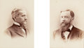 Photographs, G.W. Pach (American, 1845-1904). Yale University's Class of 1883 Yearbook, 1883. Albumen. 5-1/4 x 3-3/4 inches (13.3 x 9...
