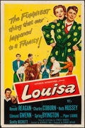 "Movie Posters:Comedy, Louisa (Universal International, 1950). One Sheet (27"" X 41"").Comedy.. ..."