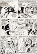 Original Comic Art:Panel Pages, Don Heck The Avengers #34 Story Page 8 Original Art (Marvel,1966)....