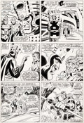 Original Comic Art:Panel Pages, Don Heck and Frank Giacoia The Avengers #31 Story Page 9Original Art (Marvel, 1966)....