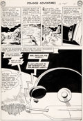 Original Comic Art:Panel Pages, Alex Toth and Sy Barry Strange Adventures #12 Story Page 7Original Art (DC, 1951)....
