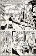 Original Comic Art:Panel Pages, Sal Buscema and Bernie Wrightson Sub-Mariner #36 Story Page19 Original Art (Marvel, 1971)....