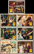 """Movie Posters:Adventure, The Black Swan (20th Century Fox, 1942). Title Lobby Card &Lobby Cards (6) (11"""" X 14""""). Adventure.. ... (Total: 7 Items)"""