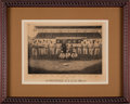 Baseball Collectibles:Photos, 1884 Providence Grays Photographic Print with Hoss Radbourn....