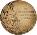 Olympic Collectibles:Autographs, 1928 Amsterdam Summer Olympics Gold Medal....