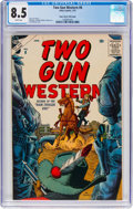 Silver Age (1956-1969):Western, Two-Gun Western #8 Mile High Pedigree (Atlas, 1957) CGC VF+ 8.5White pages....