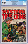 Golden Age (1938-1955):Western, Western True Crime #4 Mile High Pedigree (Fox Features Syndicate, 1949) CGC VF/NM 9.0 Off-white to white pages....