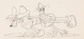 Animation Art:Production Drawing, Mickey's Fire Brigade Mickey Mouse, Donald Duck, and Goofyanimation Drawing (Disney, 1935)....