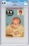 Magazines:Miscellaneous, TV Guide V1#1 New York Edition (TV Guide Magazine Group, Inc.,1953) CGC FN 6.0 White pages....