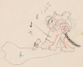 Animation Art:Production Drawing, The Mad Doctor Mickey Mouse and Pluto Animation Drawing (Walt Disney, 1933)....