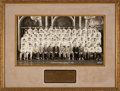 Football Collectibles:Photos, 1941 College All Stars Multi-Signed Oversized Original Francis Burke Photograph - With Jackie Robinson!...