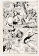 Curt Swan and Dave Hunt Superman #383 Story Page 8 Original Art (DC, 1983)