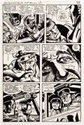 Original Comic Art:Panel Pages, Jerry Grandenetti G.I. Combat #270 Story Page 5 Original Art(DC, 1984)....