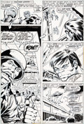 Original Comic Art:Panel Pages, Herb Trimpe and Sal Trapani The Incredible Hulk #158 StoryPage 18 Original Art (Marvel, 1972)....