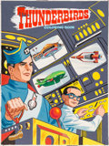 Original Comic Art:Covers, Jason Comic Art Studio Thunderbirds Coloring Book CoverPainting Original Art (Whitman, 1968...
