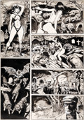 Original Comic Art:Panel Pages, Gonzalo Mayo Vampirella #64 Story Page 8 Original Art(Warren, 1977)....