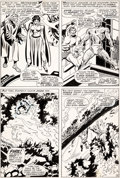 Original Comic Art:Panel Pages, John Buscema and Frank Giacoia Sub-Mariner