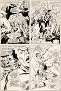 Original Comic Art:Panel Pages, John Buscema and Frank Giacoia Sub-Mariner #1 Story Page 11Original Art (Marvel, 1968)....