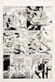 Steve Ditko and Rick Altergott What Is... The Face? #3 Story Page 9 Original Art (A.C.E. Comics, c. 1986-87)