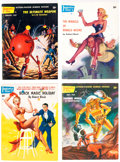 Pulps:Science Fiction, Imaginative Tales Group of 4 (Greenleaf Publishing Co., 1955-57) Condition: Average FN+.... (Total: 4 Items)