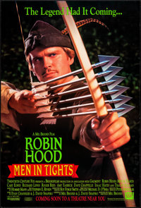 "Robin Hood: Men in Tights & Other Lot (20th Century Fox, 1993). One Sheets (3) (Approx. 27"" X 40"" & 27..."