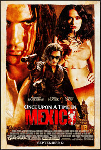 """Once Upon a Time in Mexico & Other Lot (Columbia, 2003). One Sheets (2) (27"""" X 40"""") DS Advance. Action..."""