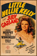 "Movie Posters:Musical, Little Nellie Kelly (MGM, 1940). One Sheet (27"" X 41"") Style C.Musical.. ..."