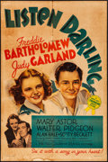 "Movie Posters:Comedy, Listen Darling (MGM, 1938). One Sheet (27"" X 41"") Style C. Comedy....."