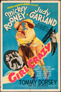 "Movie Posters:Musical, Girl Crazy (MGM, 1943). One Sheet (27"" X 41"") Style D. Musical....."