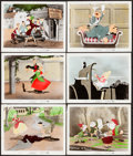 """Movie Posters:Animation, The Adventures of Ichabod and Mr. Toad (RKO, 1949). Color Photos(6) (8"""" X 10""""). Animation.. ... (Total: 6 Items)"""