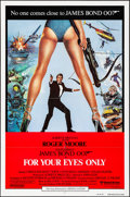 "Movie Posters:James Bond, For Your Eyes Only (United Artists, 1981). International One Sheet(27"" X 41"") Brian Bysouth Artwork. James Bond.. ..."