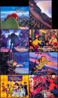 "Movie Posters:Animation, The Hunchback of Notre Dame (Buena Vista, 1996). InternationalLobby Card Set of 8 (11"" X 14""). Animation.. ... (Total: 8 Items)"