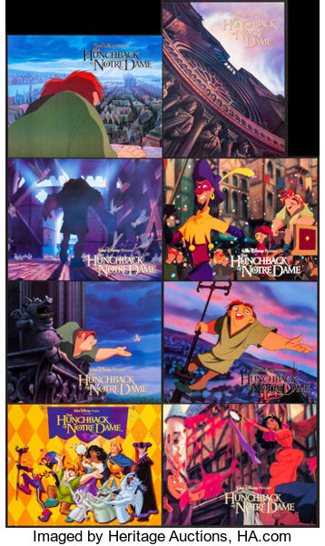 The Hunchback Of Notre Dame Buena Vista 1996 International Lot 53161 Heritage Auctions