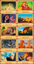 """Movie Posters:Animation, The Lion King (Gaumont/Buena Vista International, 1994). FrenchLobby Card Set of 10 (11.75"""" X 15.75""""). Animation.. ... (Total: 10Items)"""